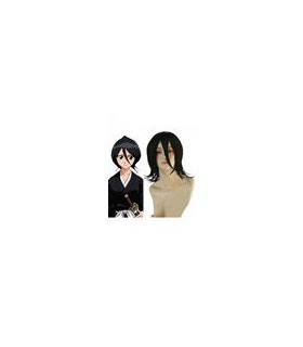 Bleach Kuchiki Rukia cosplay peluca