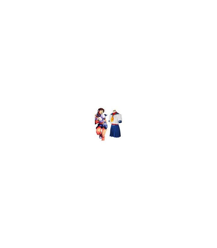 Street Fighter traje de marinero cosplay