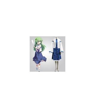 Touhou Project Azul Y Blanco cosplay