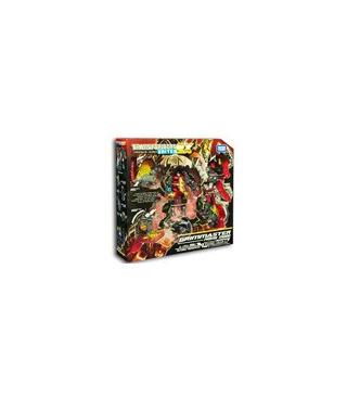 Transformers United EX 04 Grim Master Prime Mode