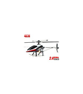 Double Horse 9117 4CH Helicopter 2.4GHz w/ Built-in Gyro Red