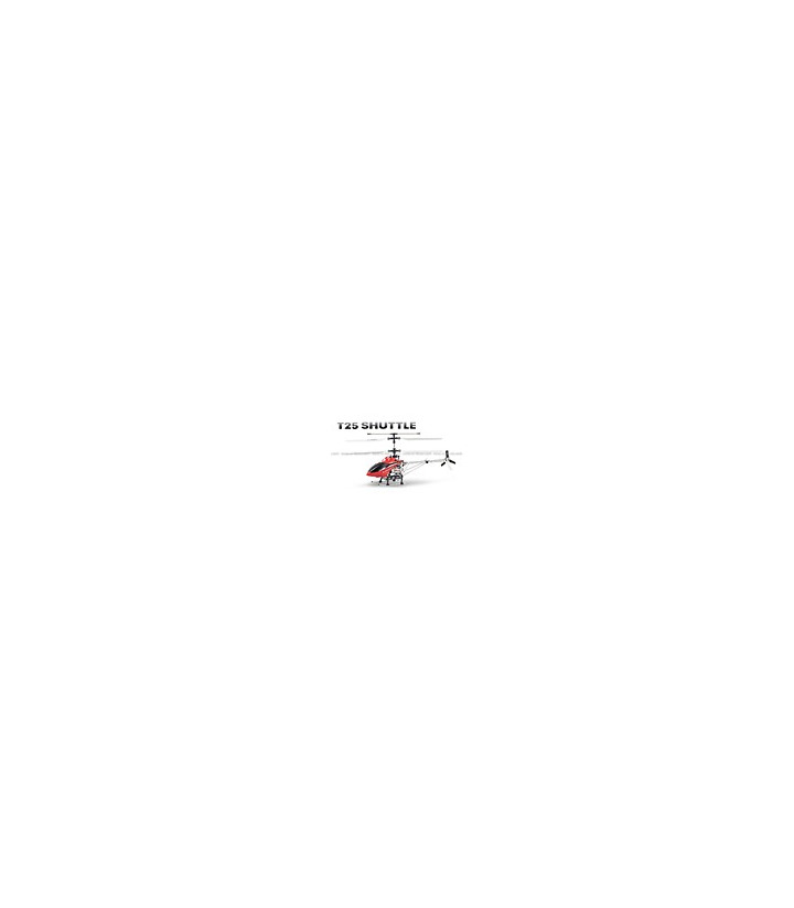 MJX T25 Shuttle 4CH RC Helicopter RTF w/ Gyro Red