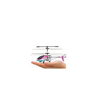 MJX T38 Thunderbird 3CH RC Helicopter RTF w/ Gyro Pink