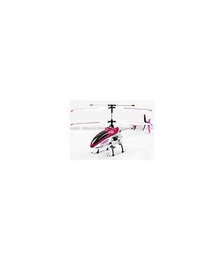 MJX T40C Shuttle 4CH RC Helicopter RTF w/ Gyro Spy Camera Pink