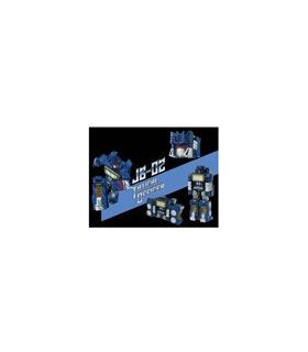 Transformers Junkion Blacksmith JB-02 Tactical Officer Figure