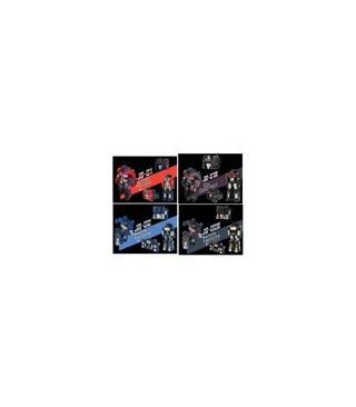 Transformers Set of JB-01, JB-01B, JB-02, JB-02B Figures