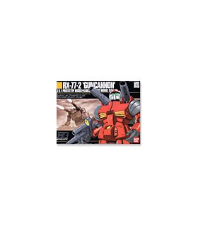 Gundam HGUC 1/144 Model Kit RX-77-2 Guncannon
