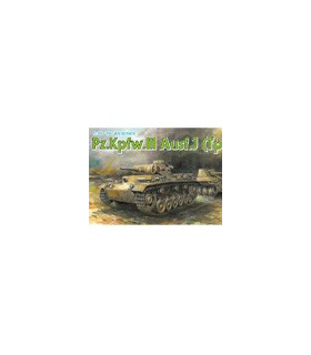 1:35 Dragon Armor Pz.Kpfw.III Ausf.J (Tp) Early Production 6543