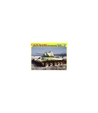 1:35 Dragon Armor T-34/76 Mod 1943 w/Commander Cupola 6584