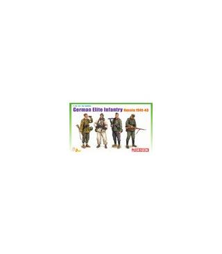 1:35 Dragon Figures German Elite Infantry Russia 1941-43 6707