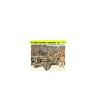 1:35 Dragon Armor SAS 1/4 Ton 4x4 Patrol Commander's Car 6724