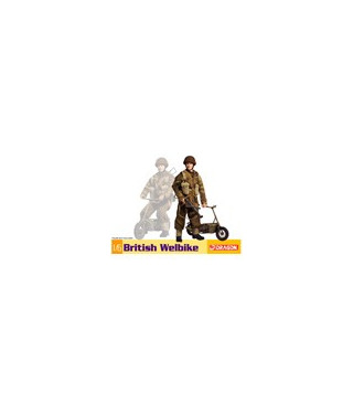1:6 Dragon Armor British Welbike 75034