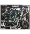 Transformers THS-02B Hybrid Style Black G1 Convoy Asia Exclusive