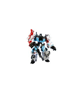 Transformers Unite Warriors UW-03 Defensor with Exclusive Groove