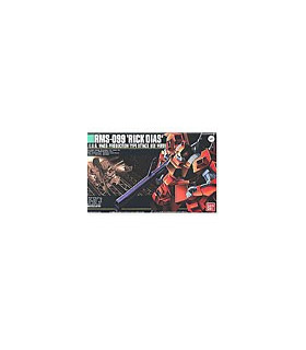 Gundam HGUC 1/144 Model Kit RMS-099 Rick Dias Red