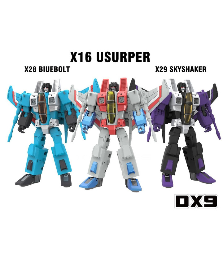 Transformers DX9 Toys War in Pocket X16 X28 X29 Seeker Set