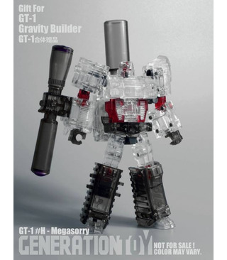 Transformers Generation Toy Gravity Builder Full Set of 6