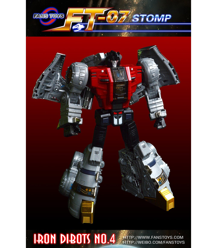 Transformers FansToys FT-07 Stomp Iron Dibots