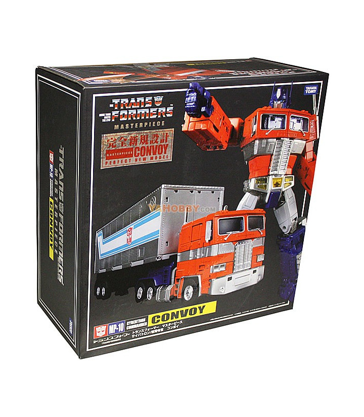 Transformers MP-10 Masterpiece Optimus Prime w/ Collector Coin
