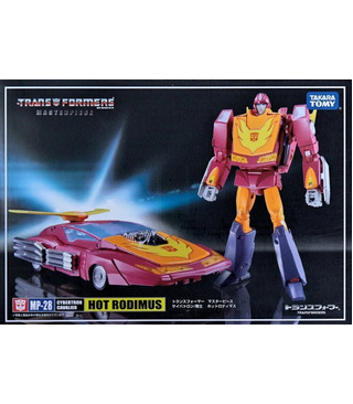 Transformers Masterpiece MP-28 Hot Rod 2.0 With Collector Coin