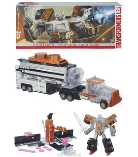 Transformers Platinum Year of the Goat Masterpiece Optimus Prime
