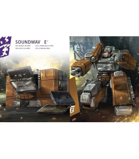 Transformers Platinum Year of the Goat Masterpiece Soundwave