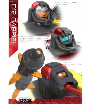 Transformers DX9 D12 Gabriel Omega Supreme