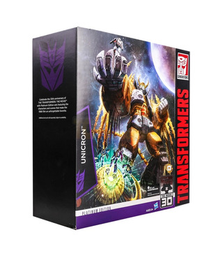 Hasbro Transformers Limited Edition Unicron With Kranix