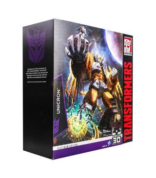 Hasbro Transformers Limited Edition Unicron With Kranix
