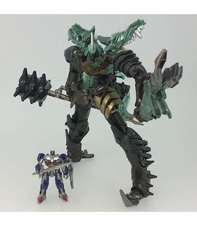 Los transformadores de la Película del 10º Aniversario de la Figura MB-09 Grimlock Con Optimus Prime