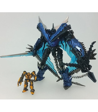 Transformers Movie 10th Anniversary Figure MB-10 Strafe With Bumblebee