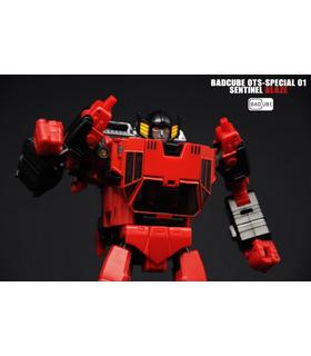 Transformatoren BadCube Alte Zeit-Serie OTS-01 Spezielle Sentinel-Blaze