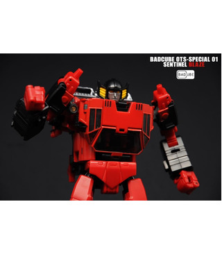 Transformers BadCube Old Time Series OTS-01 Special Sentinel Blaze