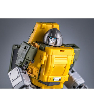 Transformers BadCube Old Time Series OTS-02 Brawny Brawn Reissue