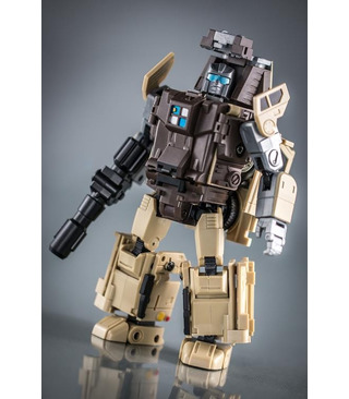 Transformers BadCube Old Time Series OTS-03 Backland Reissue [SOLD OUT]