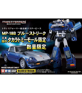 Takara Tomy Transformadores MP-18B obra Maestra Bluestreak