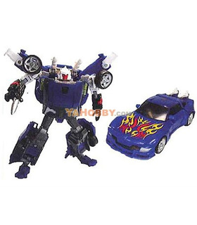 Japanese Transformers United UN-13 Autobot Tracks