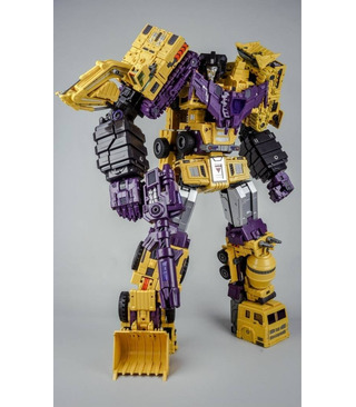 Transformers ToyWorld TW-C07Y Yellow Constructor Full Set