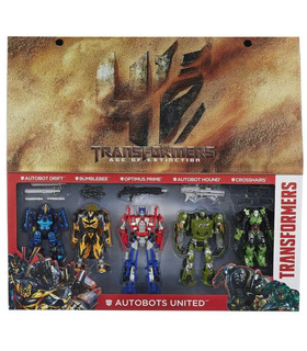 Transformers Autobots United Five Pack Platinum Edition