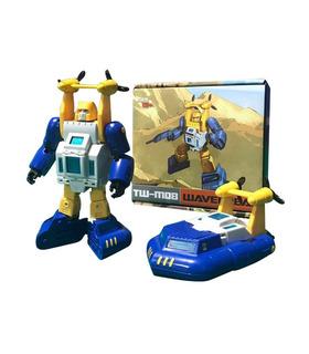 Los transformadores de ToyWorld TW-M08 Wavebreak