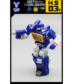 Transformers Hot Soldiers HS03T Soundtrack 2 Cassettes