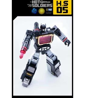 Transformers Mech Planet Hot Soldiers HS05 Soundboard