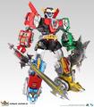 Los transformadores de Toynami Último Voltron EX
