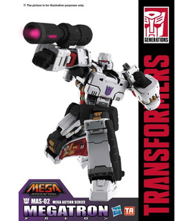 Transformatoren MAS-02 Megatron Mega-18 Action Figur