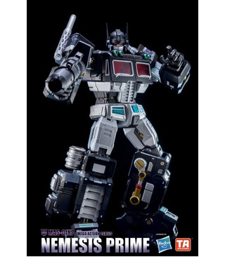 Transformers MAS-01NP Nemesis Prime Mega 18 Action Figure Limited Edition
