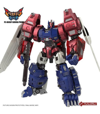 Transformers Perfect Effect PE-DX06P Gorira Prime