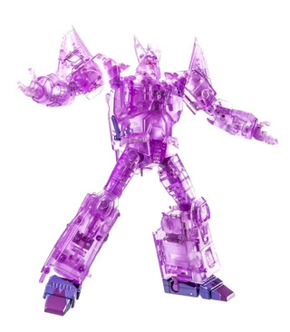 Transformers Xtransbots MX-III Eligos Limited Edition Clear Version