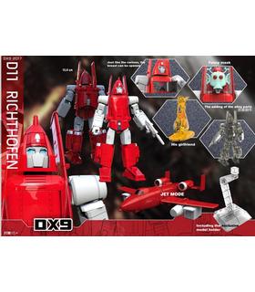 Transformers DX9 Toys DX9-D11 Richthofen