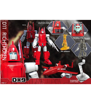 Transformers DX9 Toys DX9-D11 Richthofen [SOLD OUT]