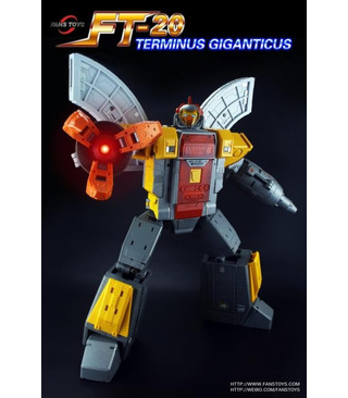 Transformers Fans Toys Terminus Giganticus FT-20A Aegis Sentinel Pack A